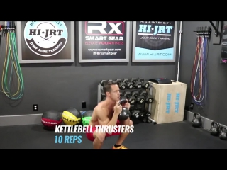 Killer Kettlebell Circuit - Workout Of The Day