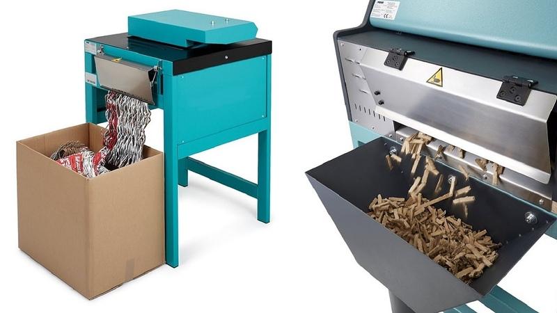 Переработка гофрокартона Дробилка для коробок Промышленный измельчитель Шредер для картона