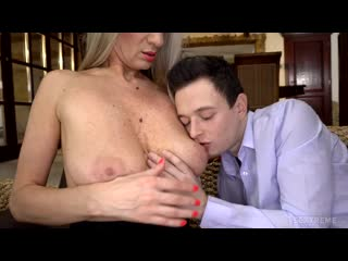Lusty Grandmas - Conchita - Step-Mom Will Make You A Man  1080p Порно, Big Tits, Blonde, Euro, Mature
