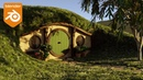 Create A Hobbit Hole In 15 Minutes (Blender Tutorial)