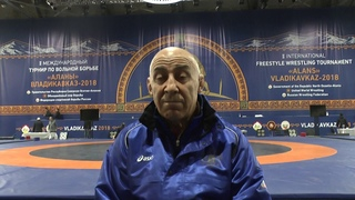 Итоги выступления сборной Дагестана на Аланах подводит Гусейнов Магомед