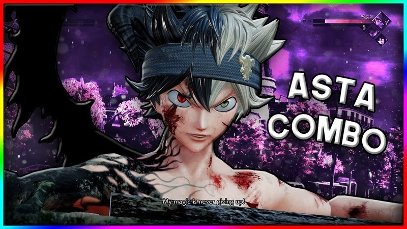 ASTA HAS INSANE RUSH DOWN 40% COMBO Jump Force Ranked Matches
