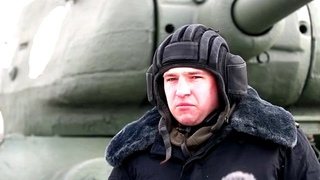 Подготовка механизированной колонны войск Санкт-Петербургского гарнизона к Параду Победы