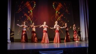 Sirin Tribe & students - Davul dance - tribal fusion @ Отчетный концерт Центра трайбл-культуры