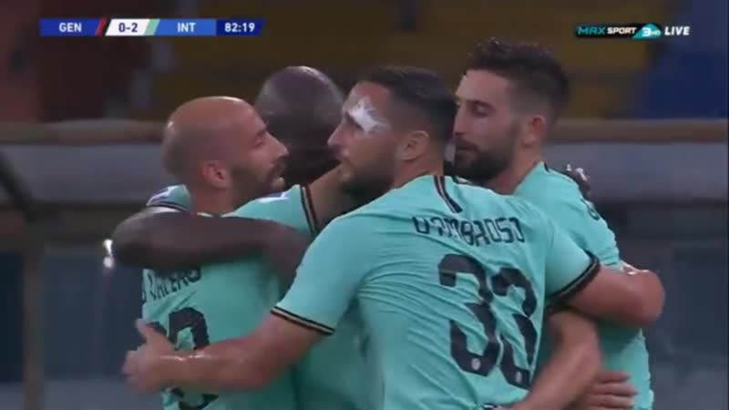 Дженоа Интер 0 2 гол Алексиса Санчеса