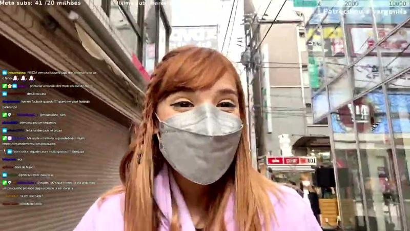 @Prizza Sofrendo XENOFOBIA no Japão em LIVE😐😐😐
