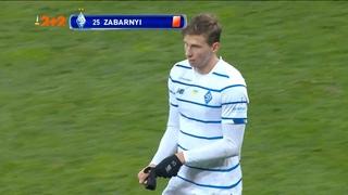 Динамо - Ворскла - 2:0. Видео удаления Забарного после просмотра VAR
