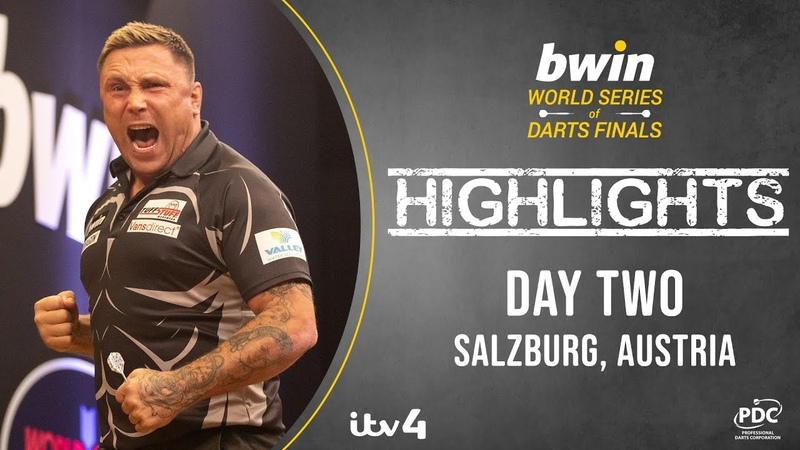 2020 Bwin World Series of Darts Finals Day Two Highlights