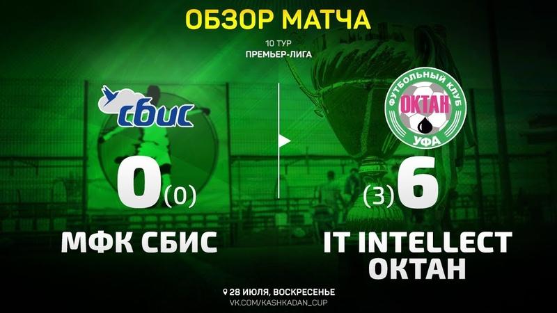 Обзор матча СБИС - IT intellect-Октан