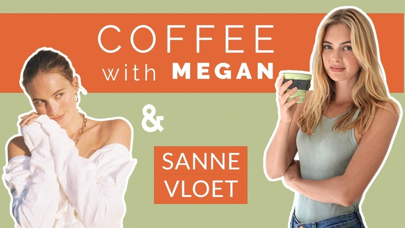 Coffee With Megan ep 14 Sanne Vloet on authenticity Youtube celebrity and her new venture