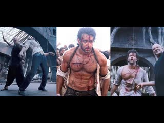 Fight, strangled, stabbed, whumped, abs punch & fight to death scene of vijay