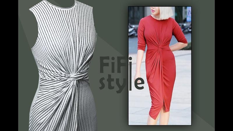 FiFi Style : Thiết kế đầm xoắn phong cách Hy Lạp