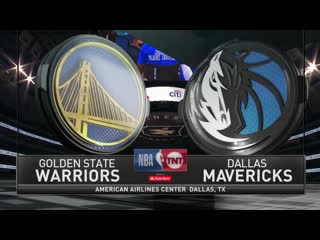 Golden State Warriors at Dallas Mavericks