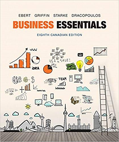 Business Essentials, Eighth Canadian Edition 8