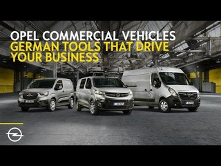 Opel Commercial Vehicles – Tailor-made for your business