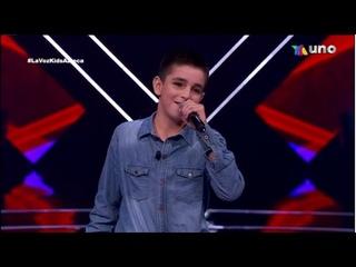 Luis Angel Audiciones A Ciegas La Voz Kids México 2021 Completa