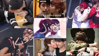 Why Mark loves to kiss Jinyoung than other members? #MarkJin #Mark #Jinyoung​ #GOT7