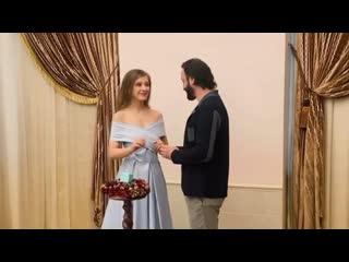 Илья Авербух и Лиза Арзамасова стали мужем и женой