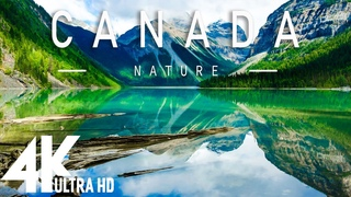 FLYING OVER CANADA ( 4K UHD ) - Relaxing Music Along With Beautiful Nature Videos 4K Video Ultra HD