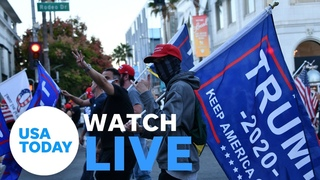 Congress meets to certify Biden's win as Pro-Trump protesters gather in D.C. (LIVE) | USA TODAY