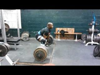 54-летний Дэвид Рикс, тяга 295 кг при с.в. 93 кг!