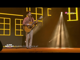 Eddy kim push and pull @ k-pop night out in warsaw 170903