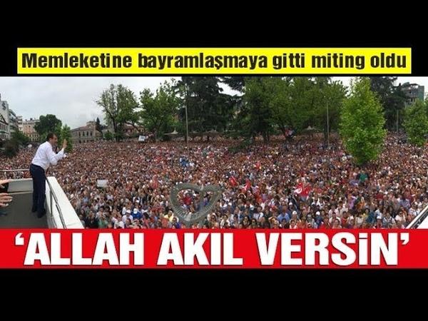 Ekrem İmamoğlu geldi Trabzon'da yer yerinden oynadı Tarihi kalabalık