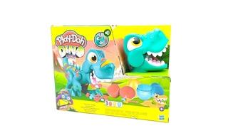 "Play-Doh ""Голодный Динозавр"" Ти-Рекс. Play doh Dino crew"