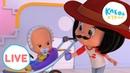 🔴LIVE! Клео и Кукин 👶 ЛУЧШИЕ ПЕСЕНКИ! 🎵🌟 Cleo y Cuquin 🤣 добрые мультики для детей