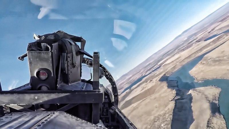F 15SG Strike Eagles In Flight Cockpit Footage 428th FS