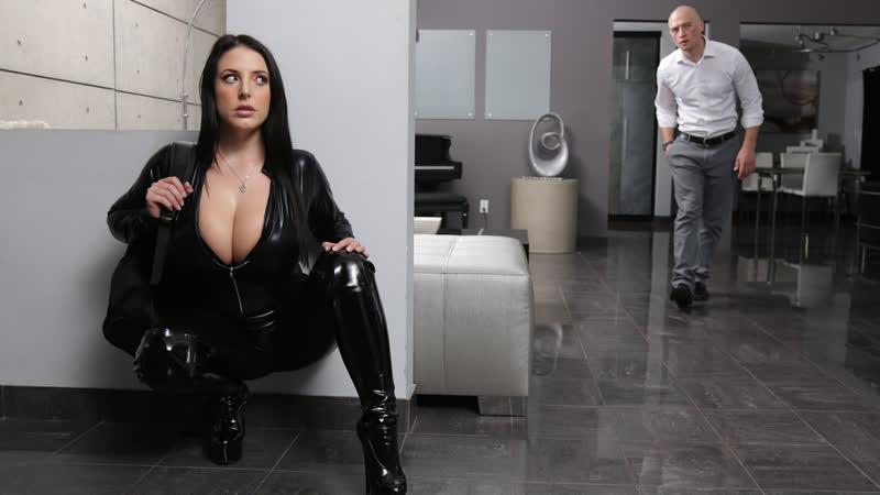 Angela White - Busting On The Burglar  [Anal, Ass Worship, Australian, Bald Pussy, Big Ass, Big Tits]