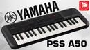 Доступный синтезатор YAMAHA PSS-A50 с чувствительной клавиатурой и MIDI