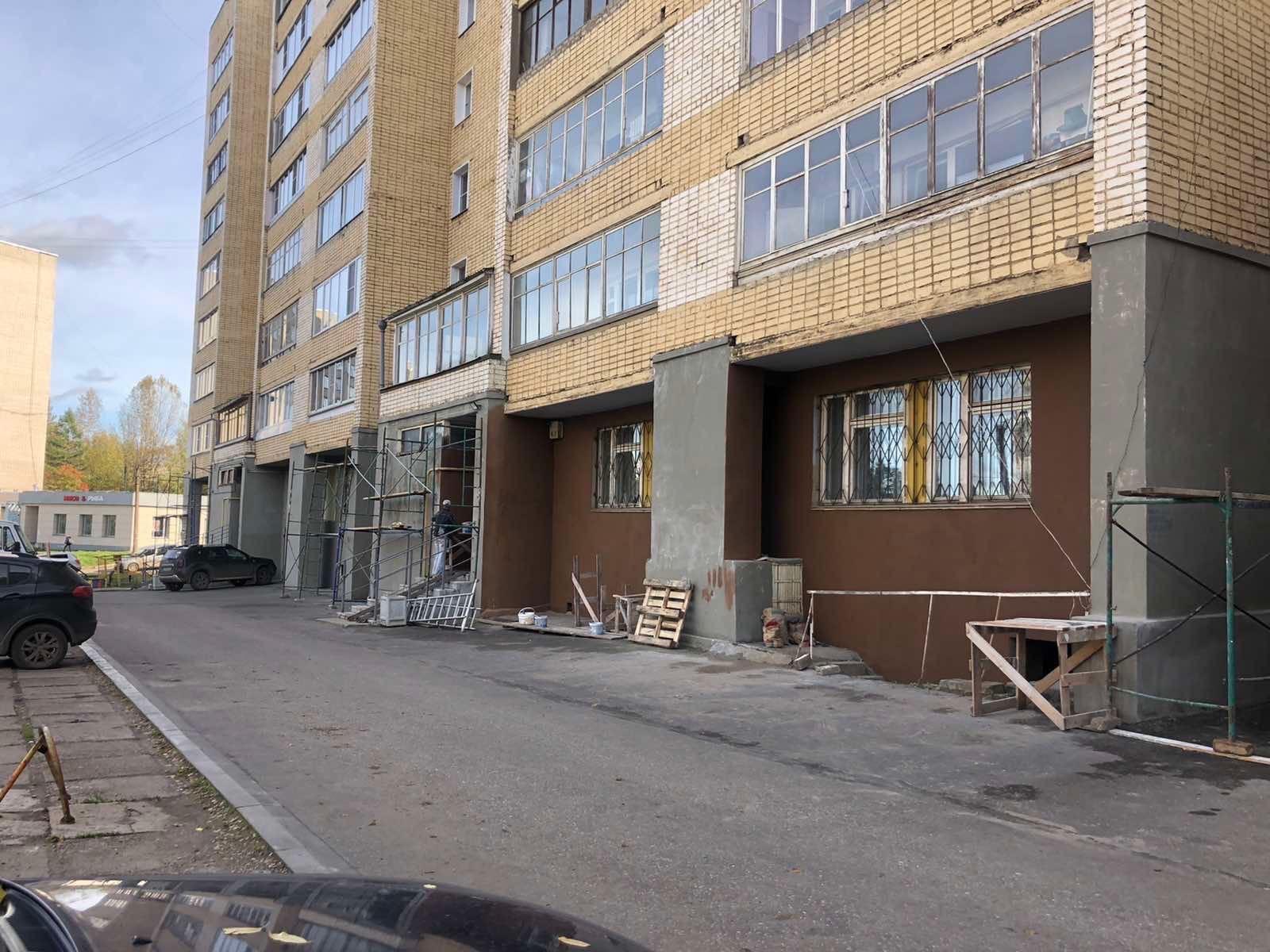 Улица Кольцова дом 22 продолжение текущего ремонта