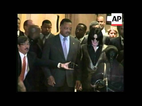 Reclusive superstar Michael Jackson makes rare public appearance