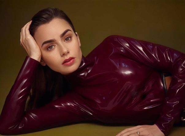 Лили Коллинз Vogue Arabia