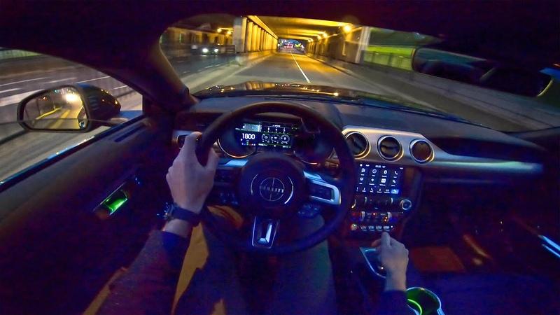 2020 FORD MUSTANG BULLITT 5 0 V8 NIGHT DRIVE POV by AutoTopNL