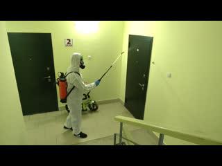Силы коммунальщиков Марий Эл брошены на борьбу с коронавирусом