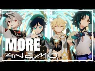 【MMD Genshin Impact】 MORE 【4NEMO feat. ...】
