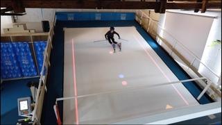 Tracé de Slalom projeté - Ski Indoor 4810