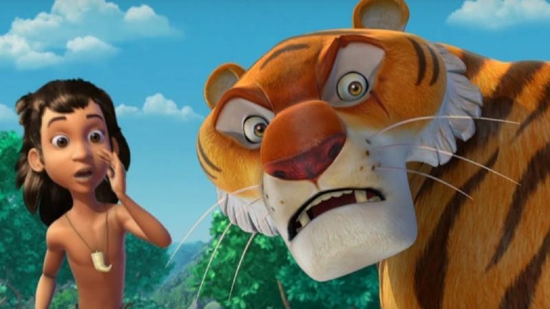Маугли Книга Джунглей Все серии сразу сборник серий 6 10 развивающий мультфильм для детей