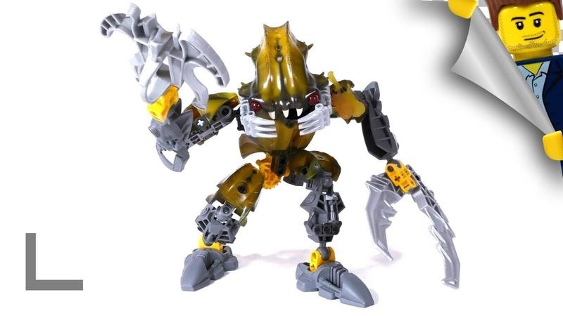 Обзор набора Lego Bionicle 8918 Барраки Карапар Barraki Carapar