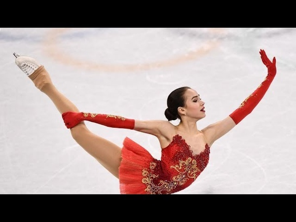 ALINA ZAGITOVA Oly Team event FS ОИ 2018 командные соревнования Комментарии американцев NBC