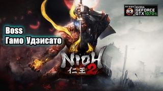 Nioh 2 Boss Гамо Удзисато PC