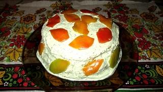 КАБАЧКОВЫЙ тортик ОСЕНЬ // #БАБУШКА_НАУЧИТ