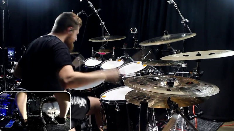 Signs Of The Swarm Tempting Death Drum Cover