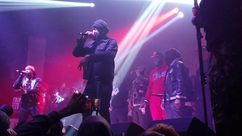 Griselda on Stage with Dr. Birds in Atlanta