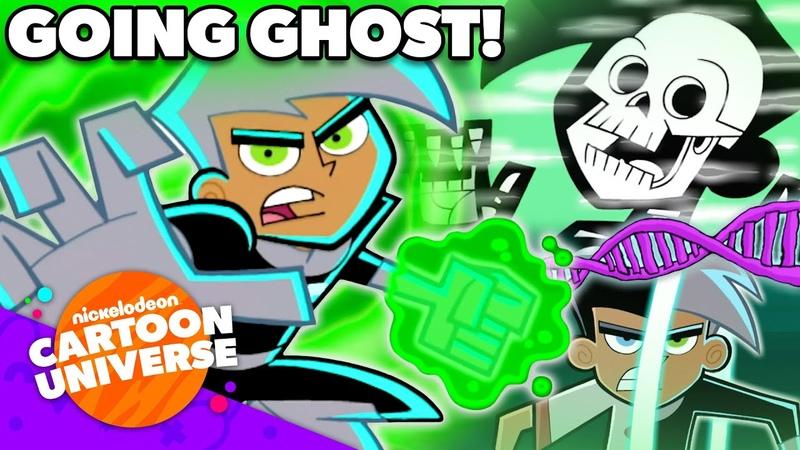 Epic Danny Phantom 'Going Ghost' Moments 👻 Nickelodeon Cartoon Universe