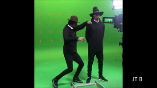 Les Twins • New Project • Larry and Laurent on set◄2017