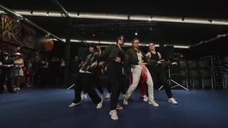Hello today k-pop cover dance crew (BTS -  MIC Drop)