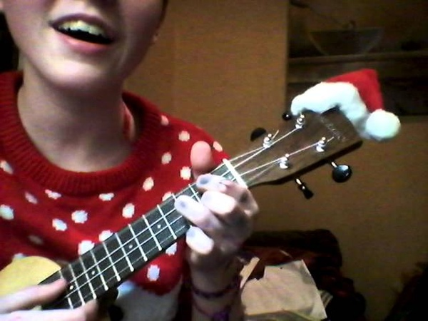 White Christmas Bing Crosby arr P ATD cover